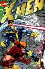 X-Men Comic Sample